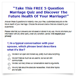 will your marriage last quiz